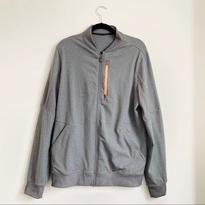 Lululemon | Gray Track Jacket Full Zip-Up Men's L